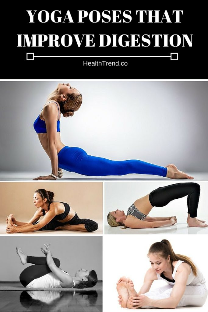 Yoga poses that improve digestion